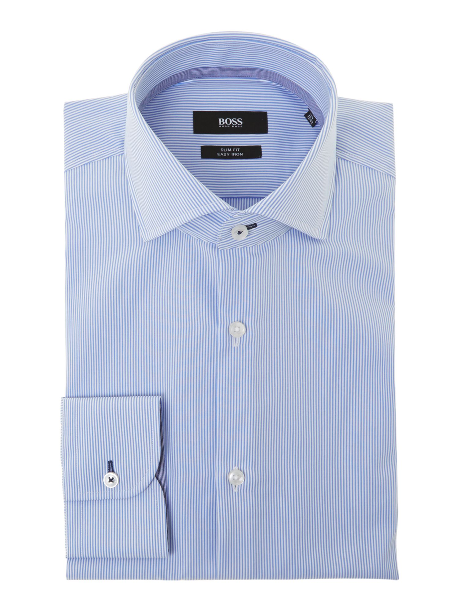 Jery slim fit fine stripe shirt