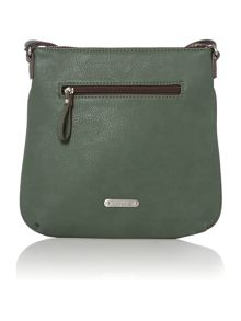 Phoebe green cross body bag