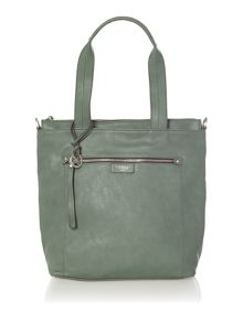 Robyn green tote bag