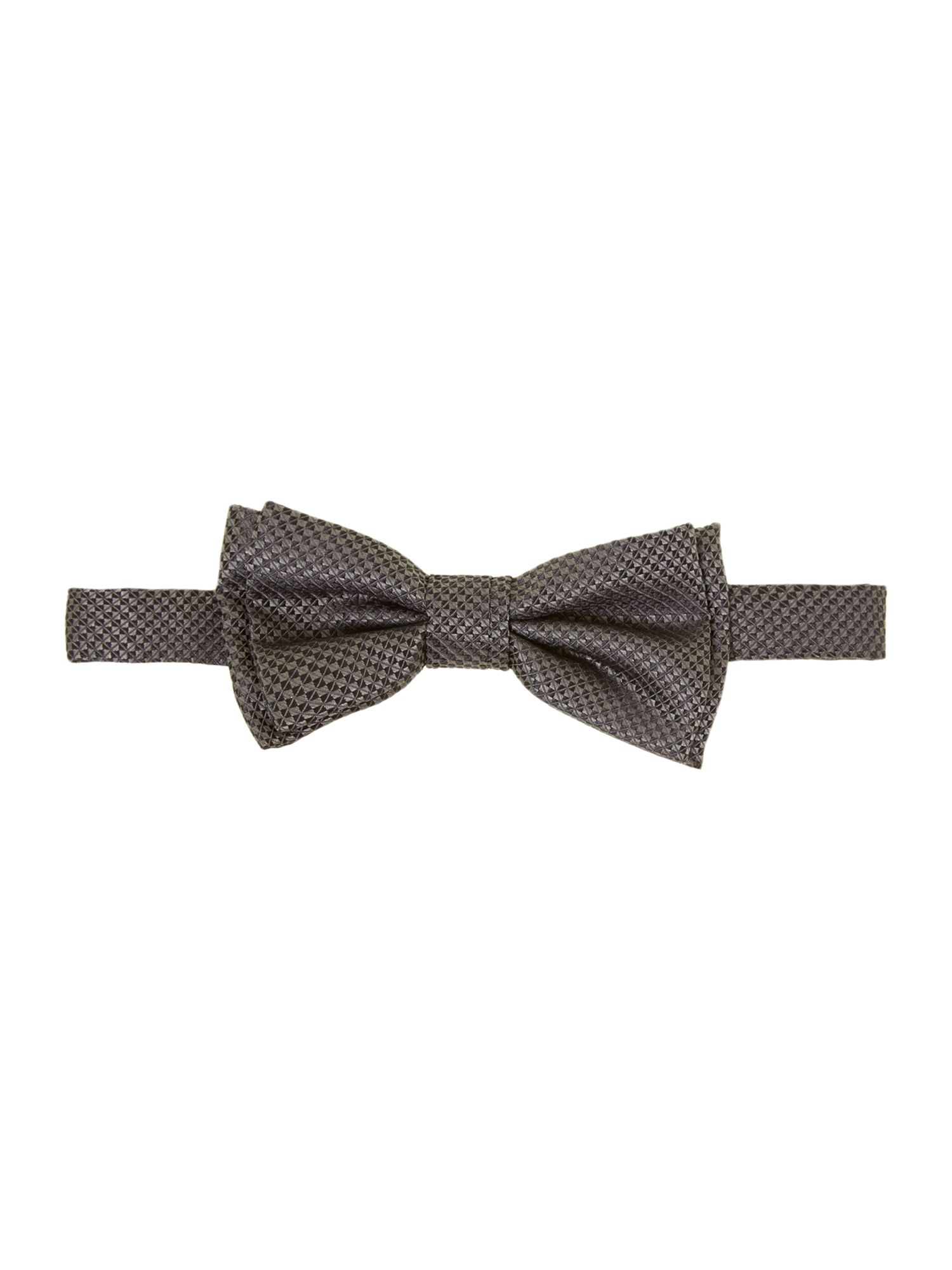 Geometric patterned bow tie