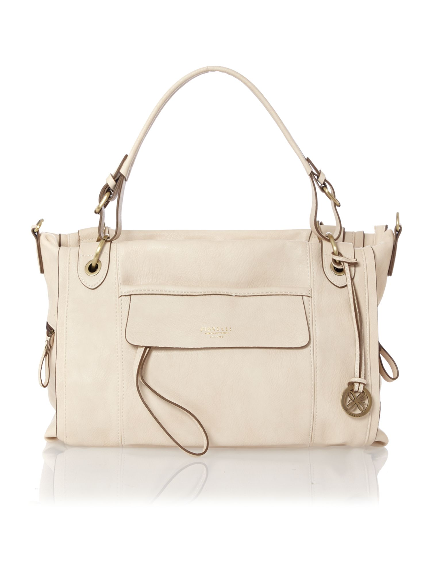Roxy neutral tote bag