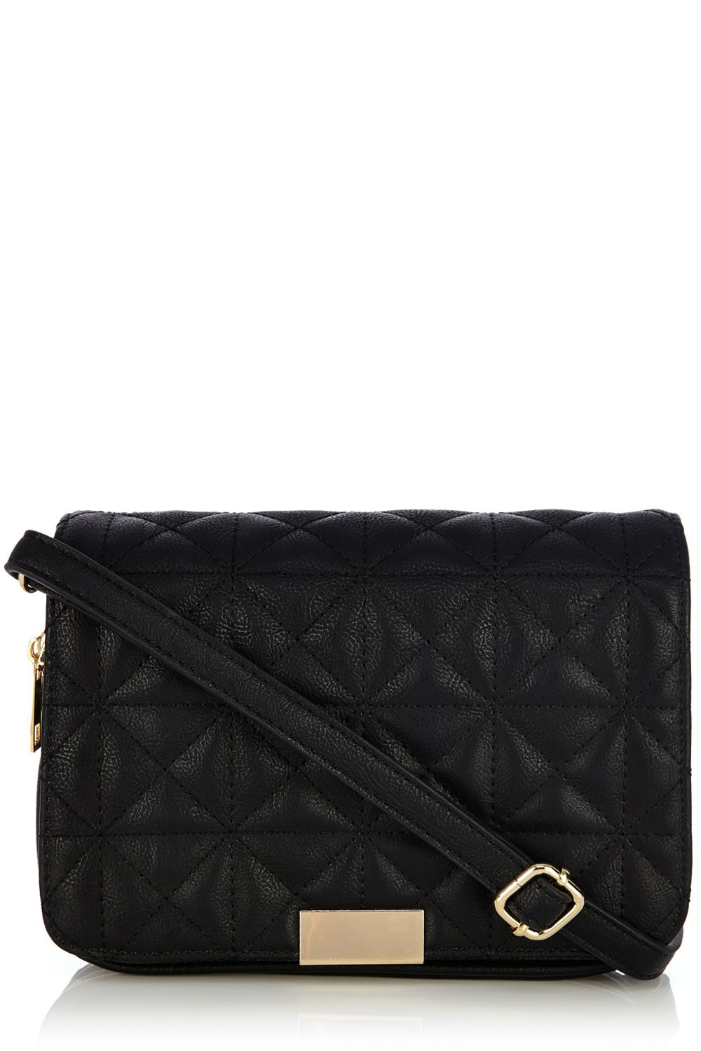 Carmen quilted satchel bag