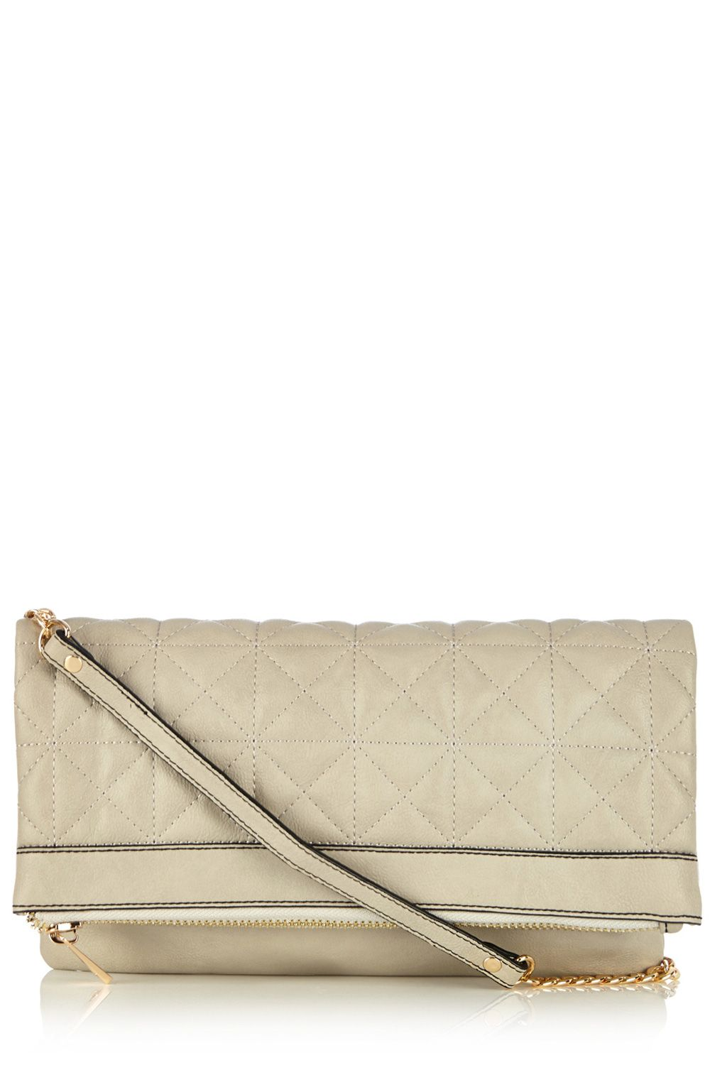Carmen quilted clutch bag