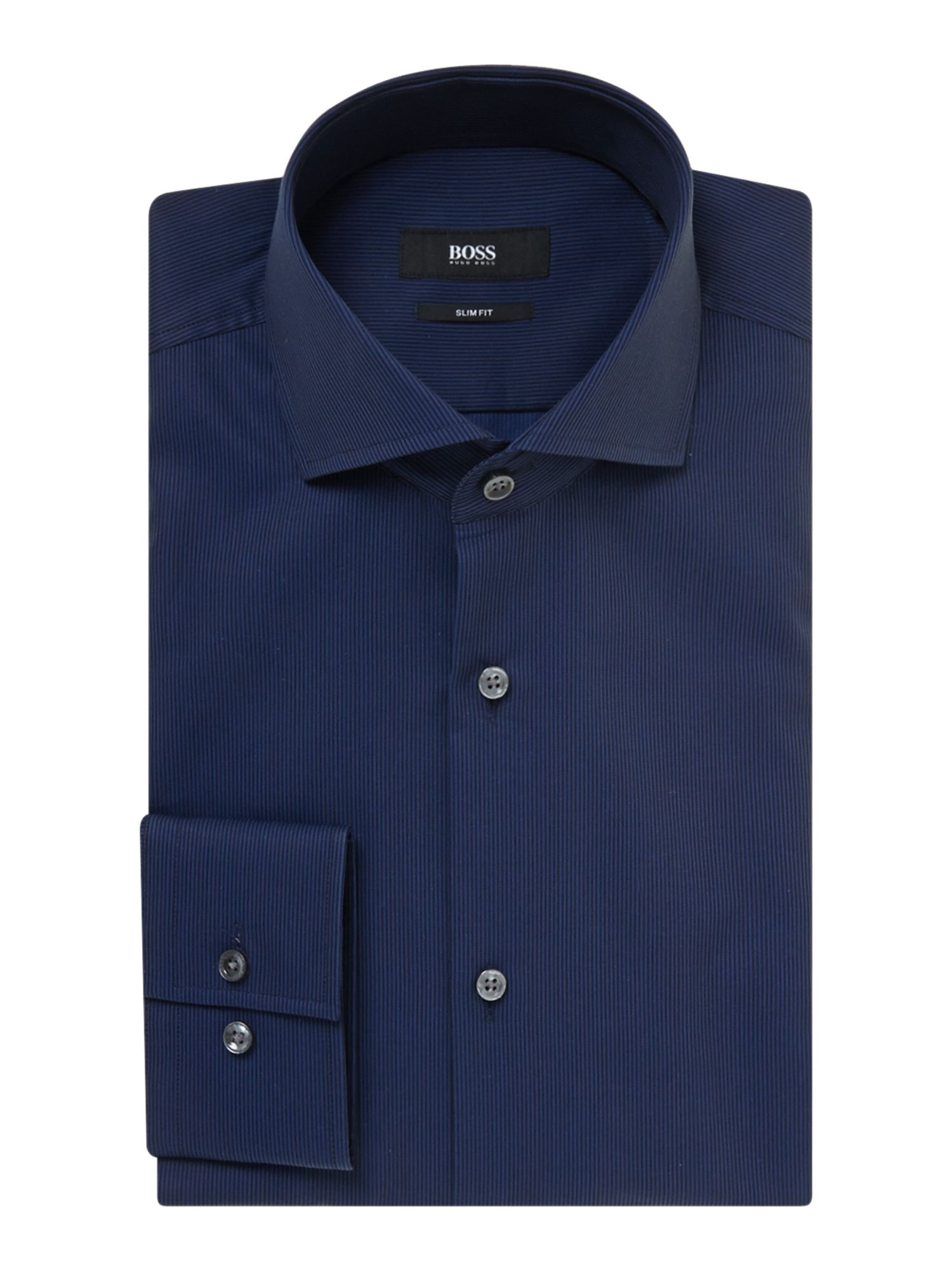 Jason slim fit rib textured shirt