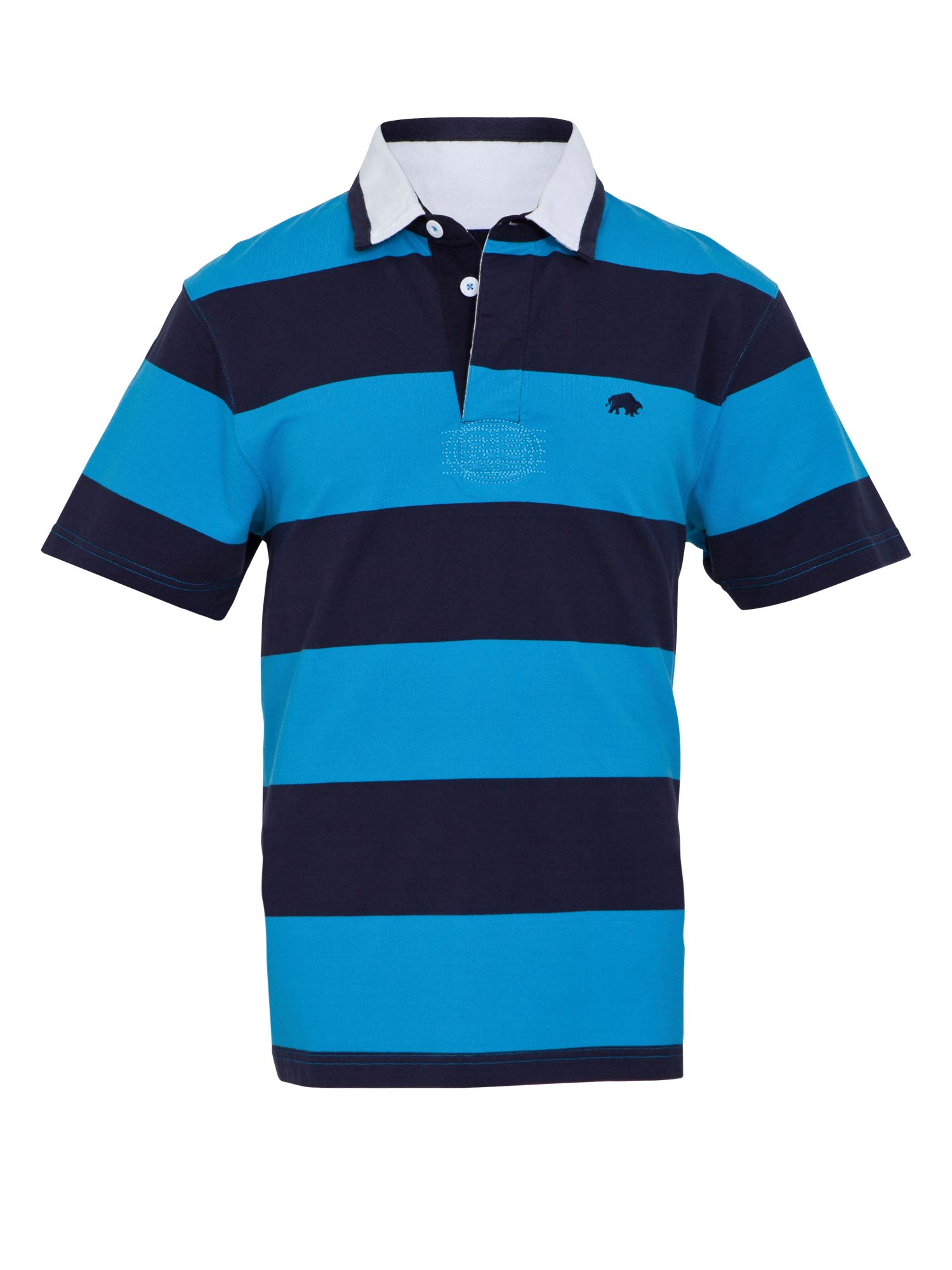 Two stripe rugby shirt