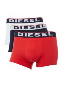 3 pack contrast waistband underwear trunk