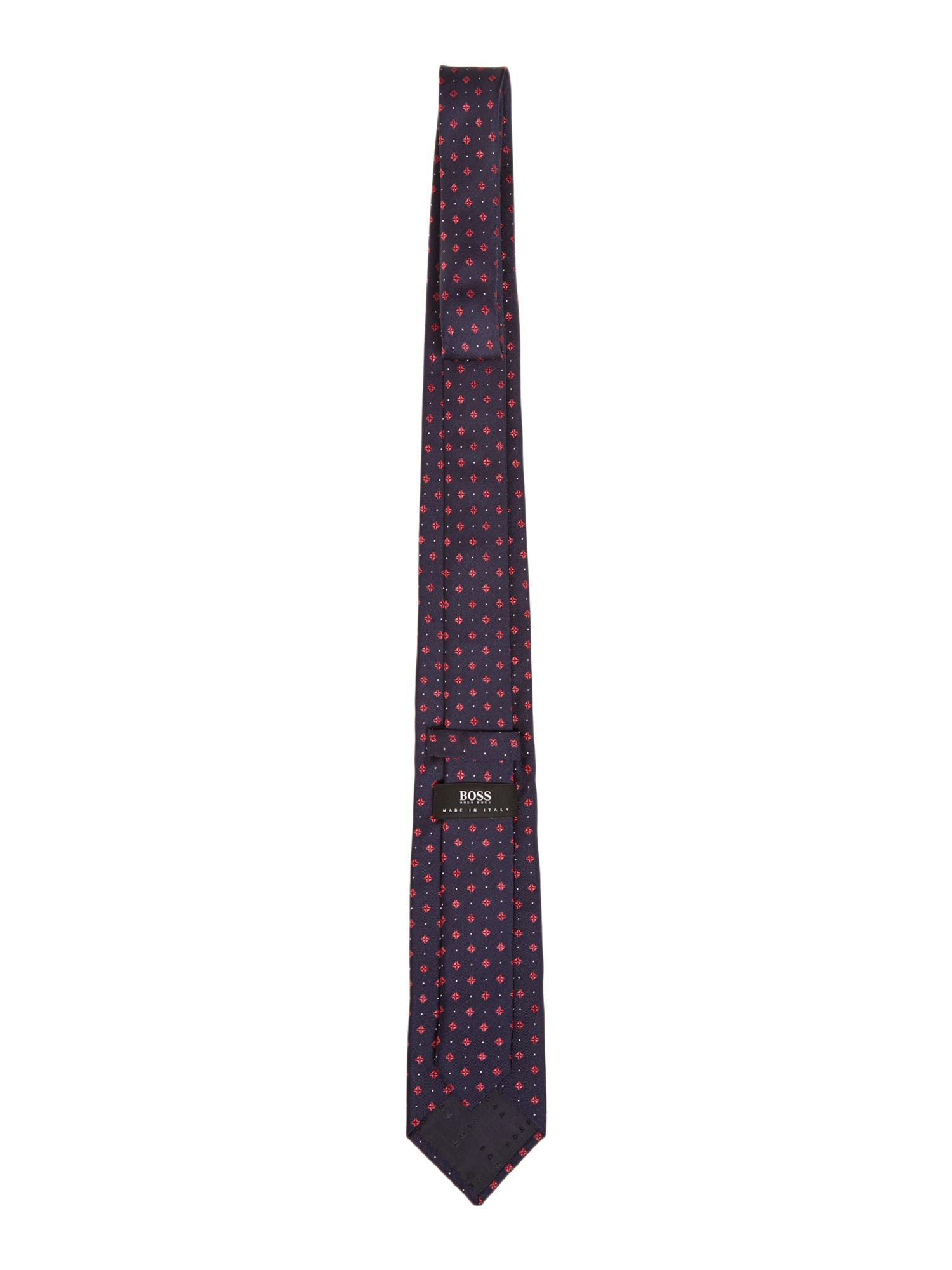 Geometric diamond tie