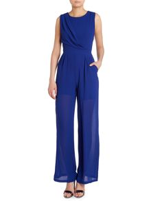 COWL NECK S JUMPSUIT