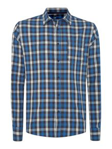 Barton gingham shirt