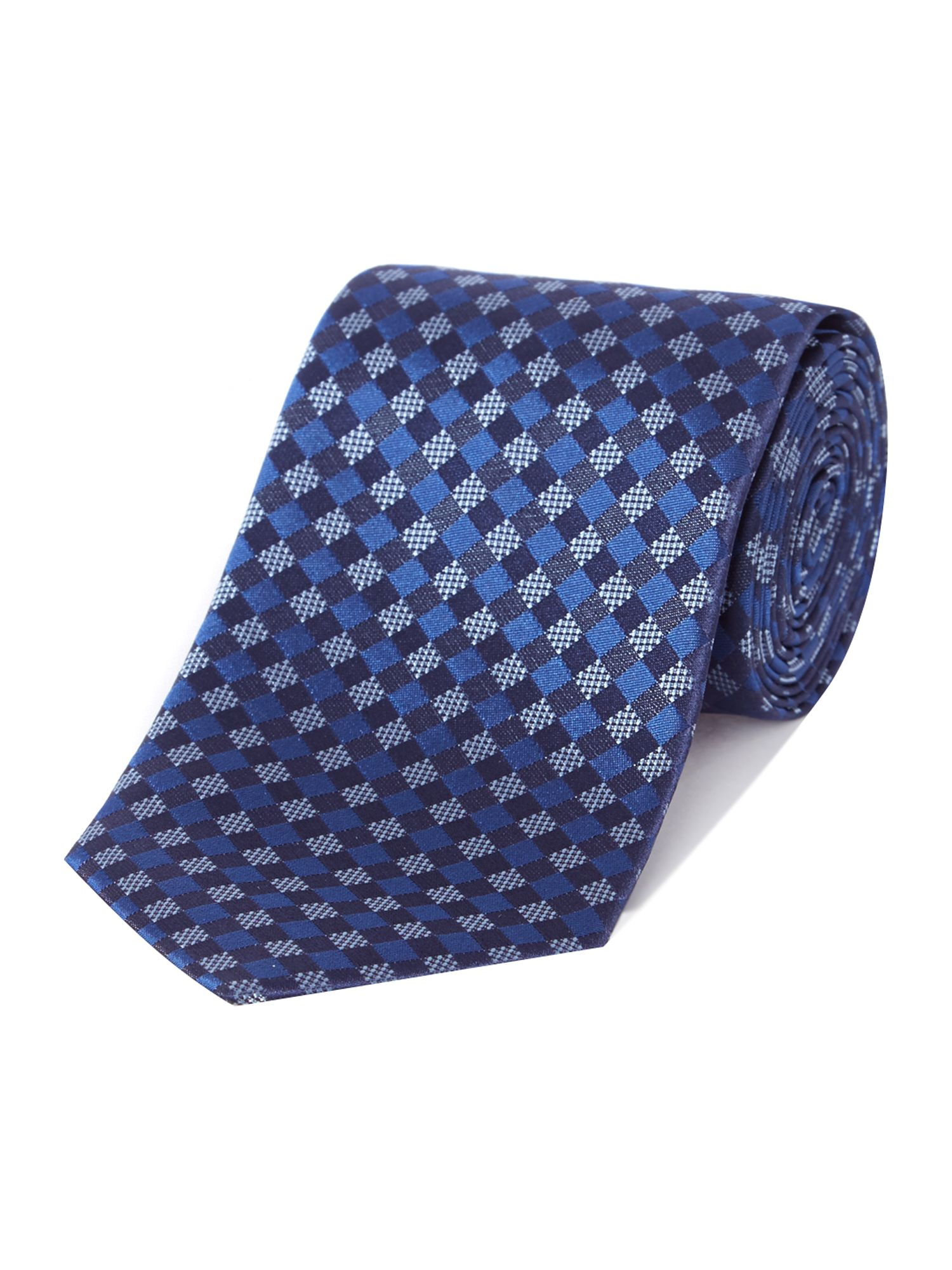 Diamond grid tie