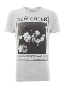 New Order graphic tee