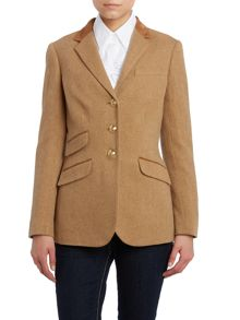 Helaine Hacking Jacket Camel