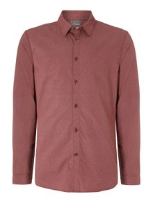 messenger dot long sleeved shirt