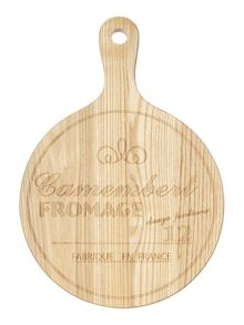 Ash wood cheese paddle board