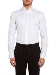 Jason slim fit basic stretch shirt