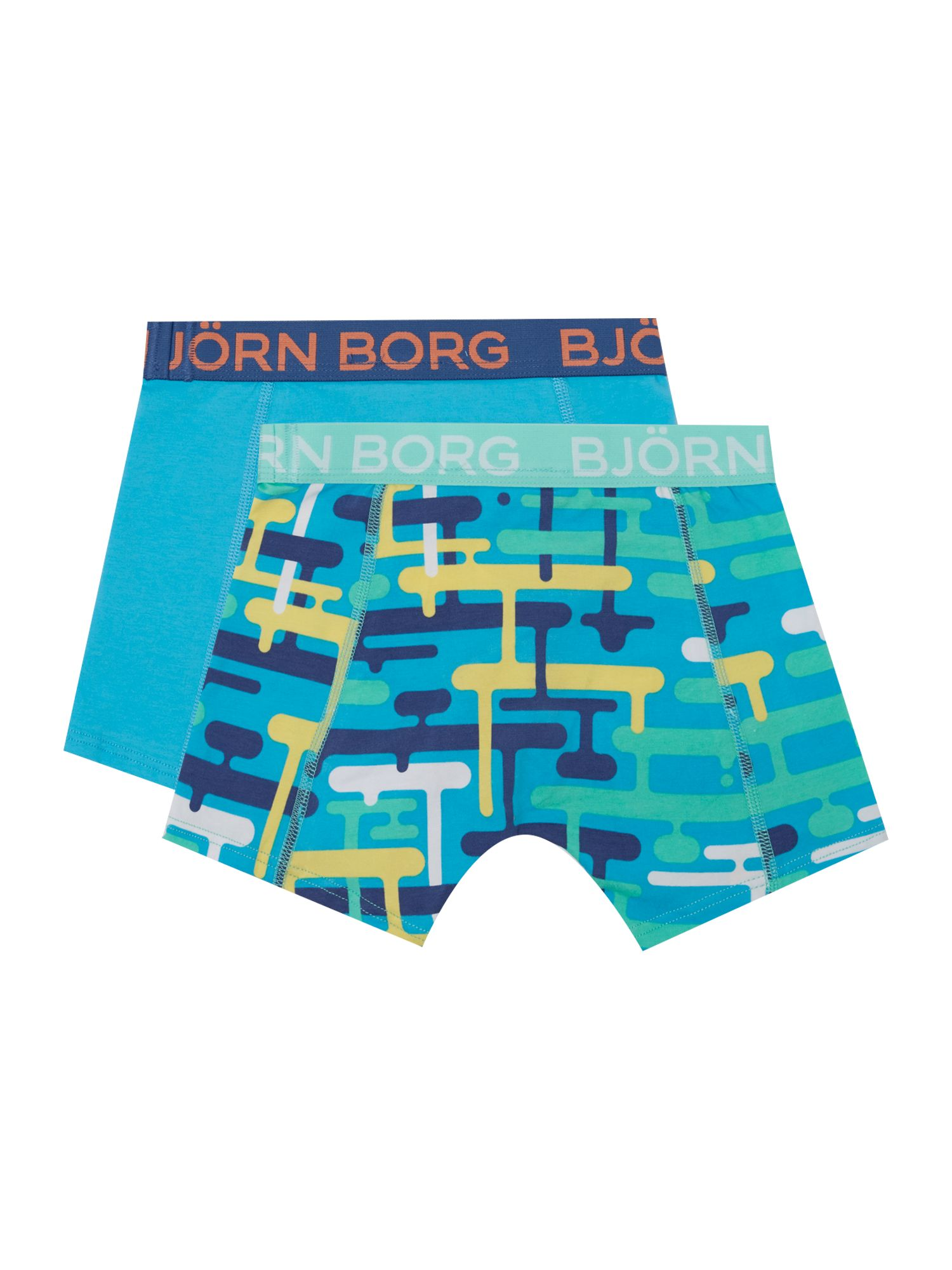 Boys 2 pack graphic printshorts