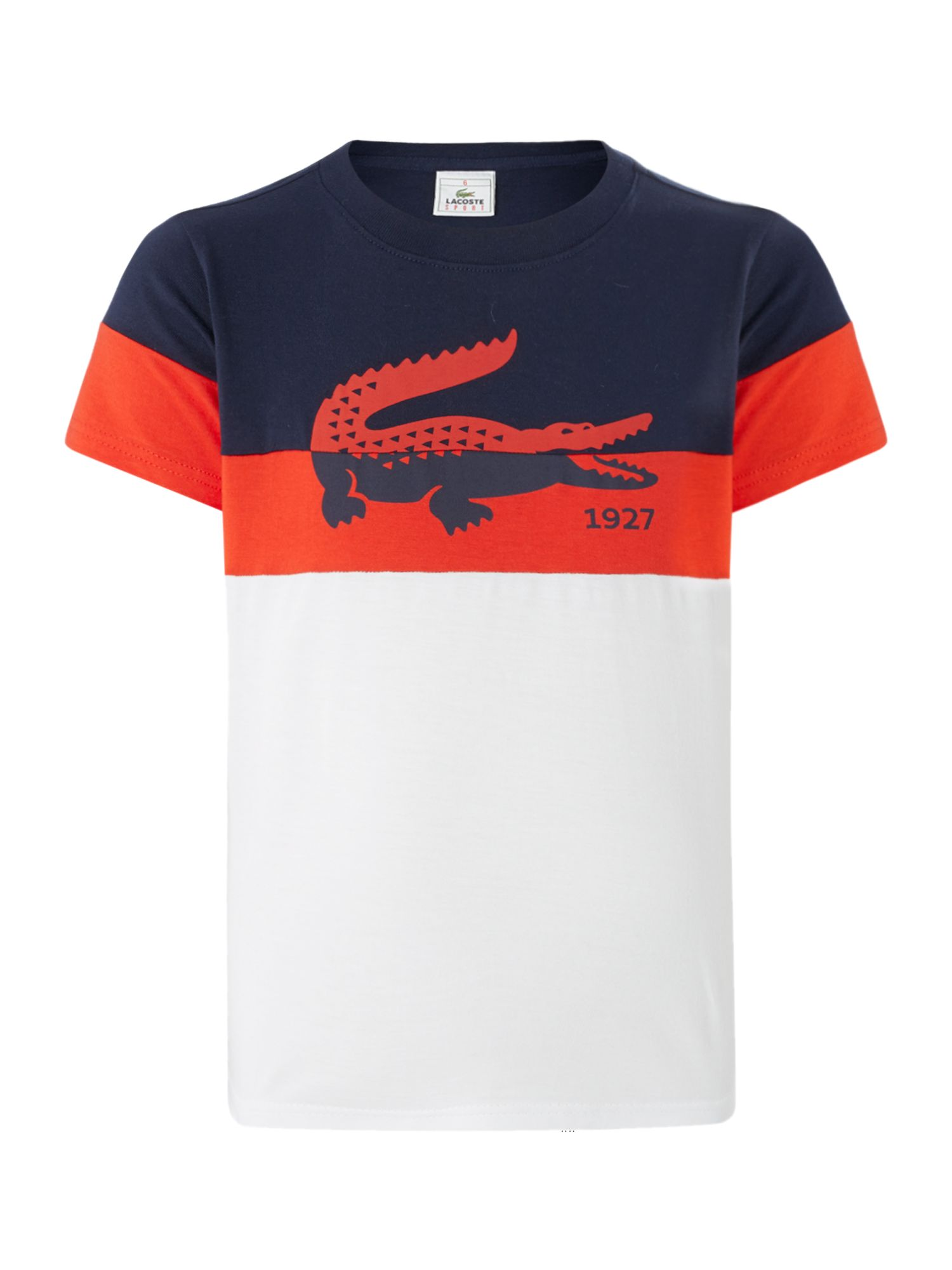 Boys big croc t-shirt