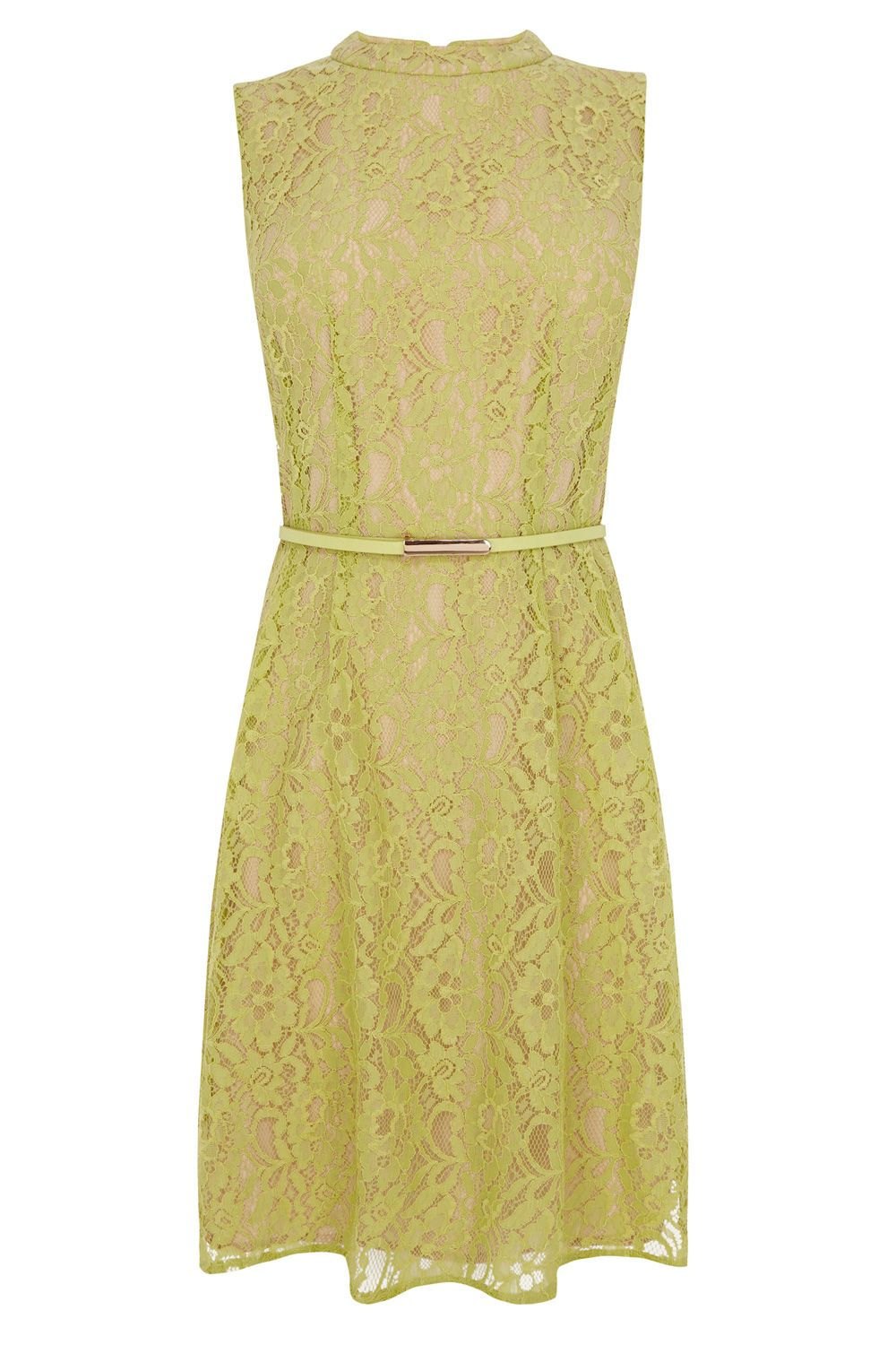 Lace adonia high neck dress