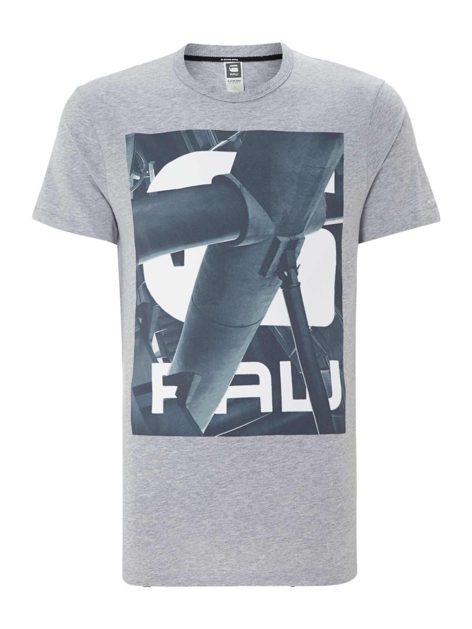 Graphic pipe print t shirt