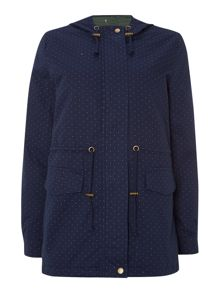 Pepper Spotty Parka Outerwear Jacket