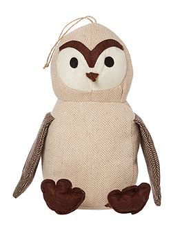 Wise owl door stop