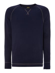 Crew neck sweat jumper