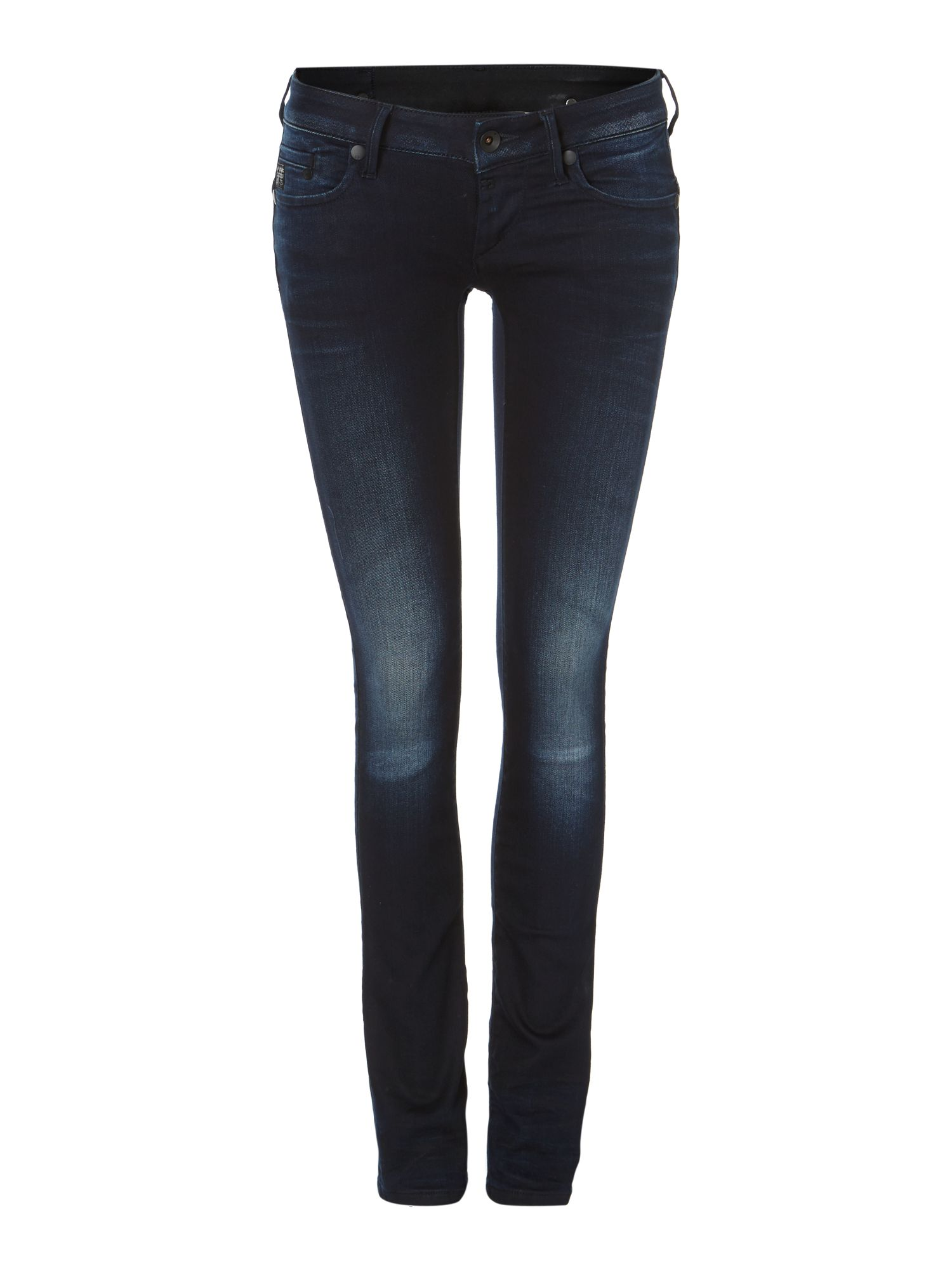 Midge straight jeans in slander navy