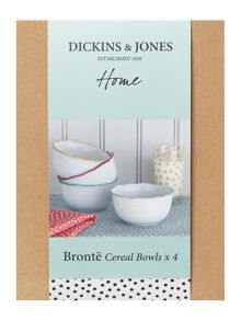 Bronte cereal bowl set of 4