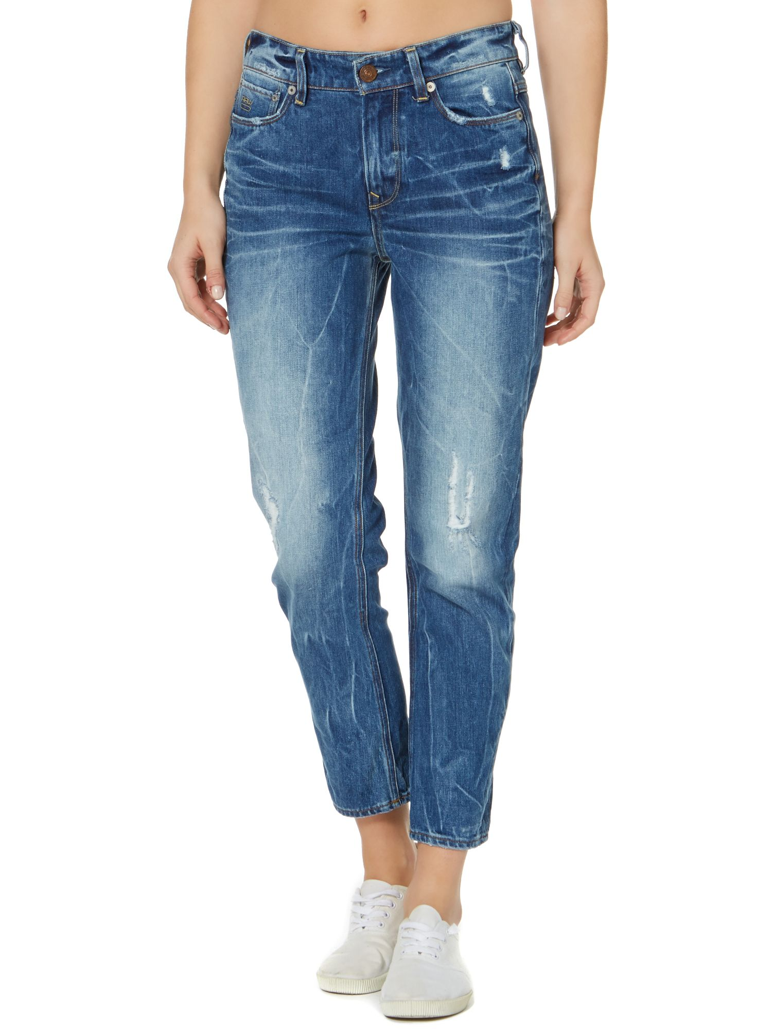 3301 tapered boyfriend jean in wisk denim