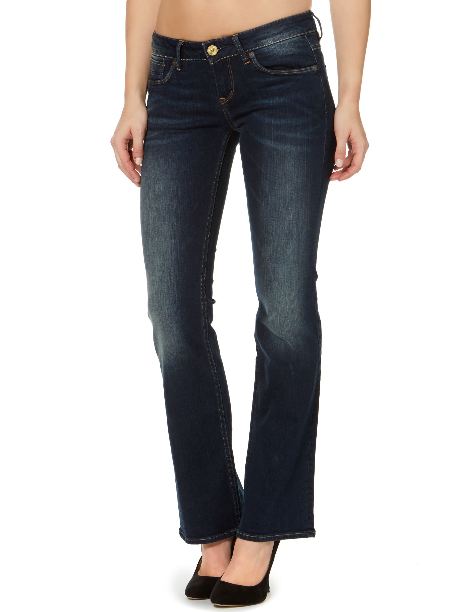 3301 bootcut jeans in comfort bloom denim