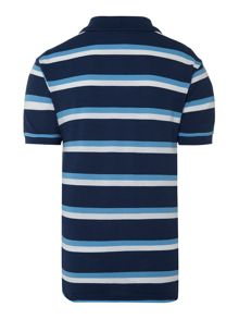 Boys thin striped polo shirt