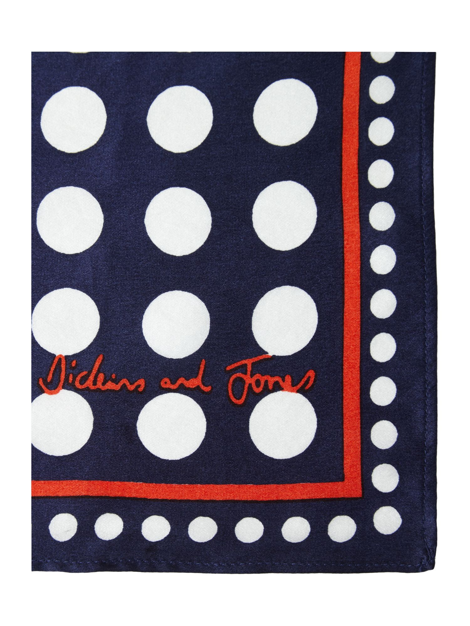 Multi spot neckerchief