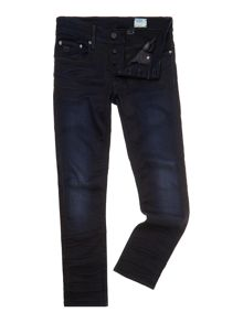 3301 slim fit dark rinse jeans