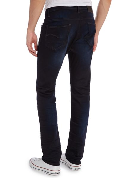 G-Star 3301 slim fit dark rinse jeans