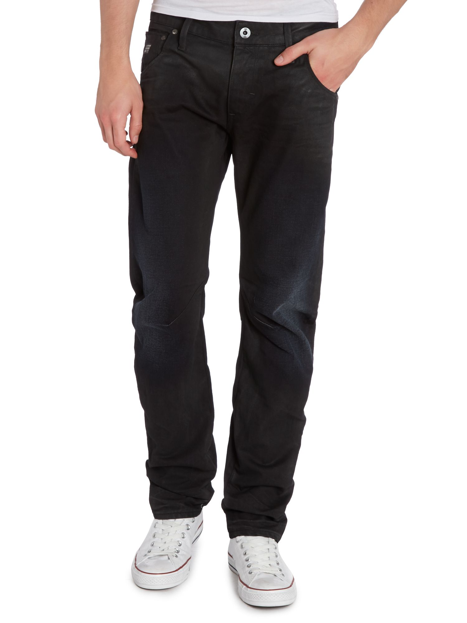 Arc 3d slim fit dark wash jeans
