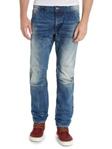 5620 low tapered mid stonewash jeans
