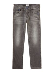Boy`s grey wash jeans
