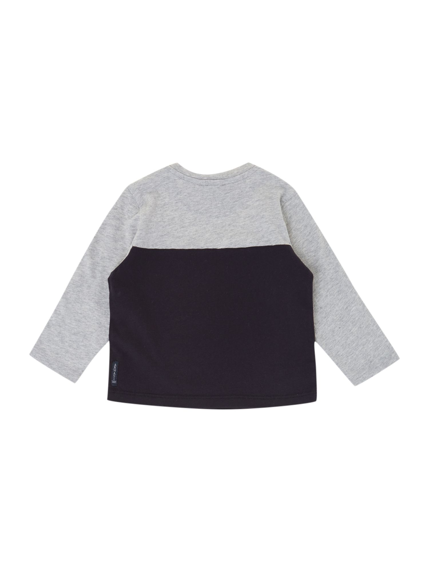 Boy`s colourblock top