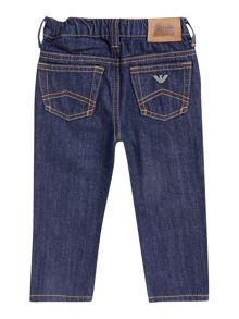 Boy`s dark wash jeans