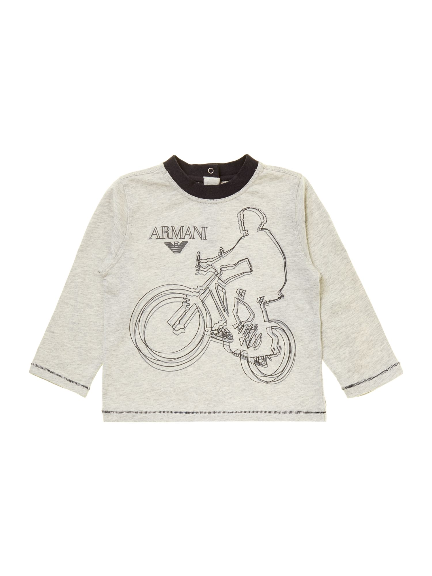 Boy`s bicycle graphic top
