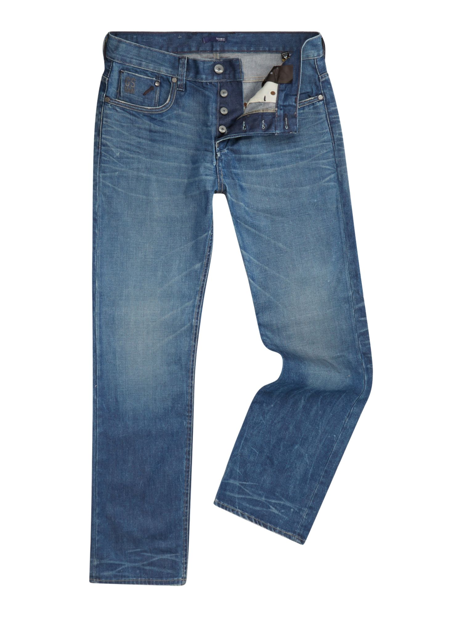 Defend slim leg hydrite dark wash jeans