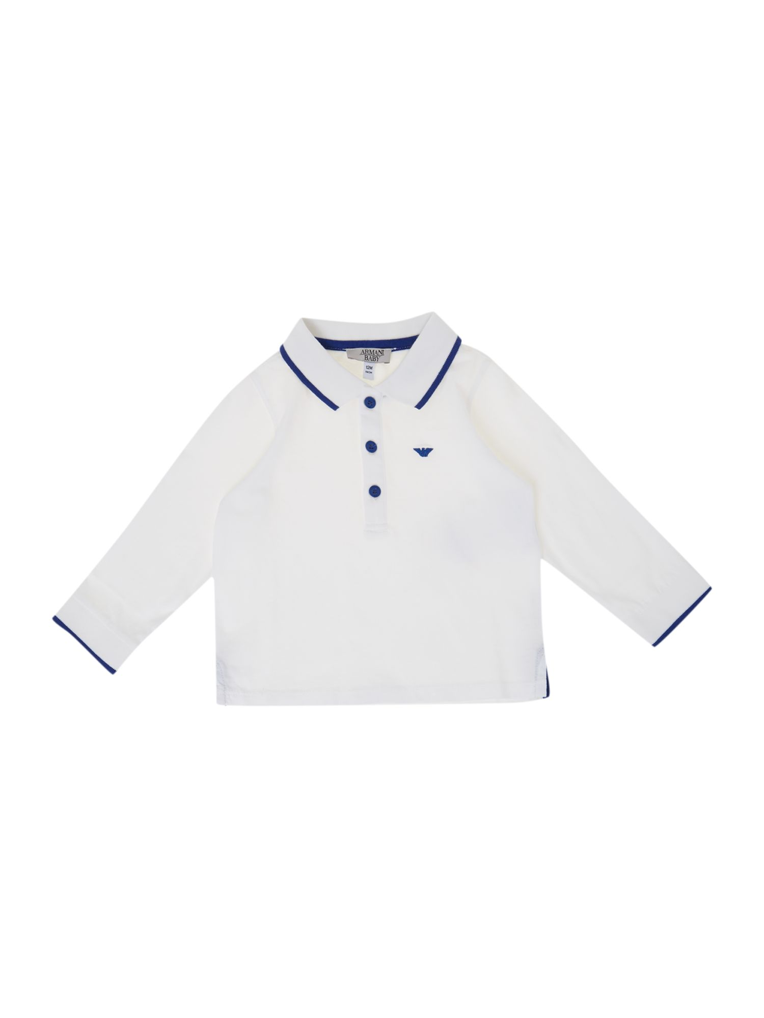 Boy`s logo polo top