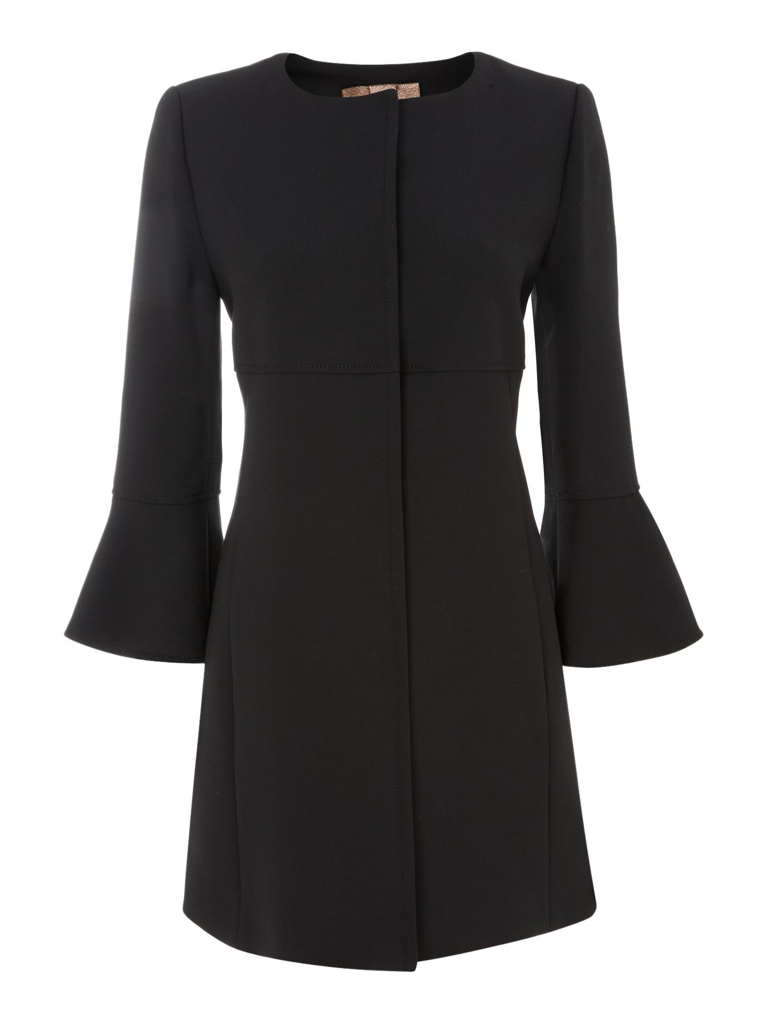Valore collarless coat