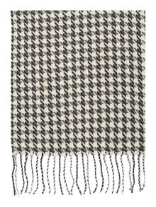 Dogtooth midweight scarf