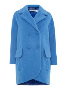 Marella Astrale double breasted coat with pockets