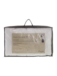 Linea Style sleeper pillow side