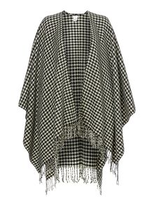 Houndstooth woven wrap