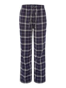 Check flannel pant