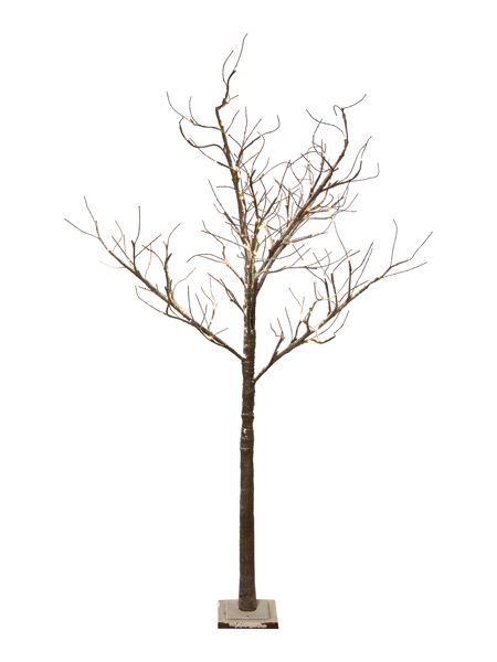 Linea 1.5m (5ft) Snow Dusted Tree with 96 lights