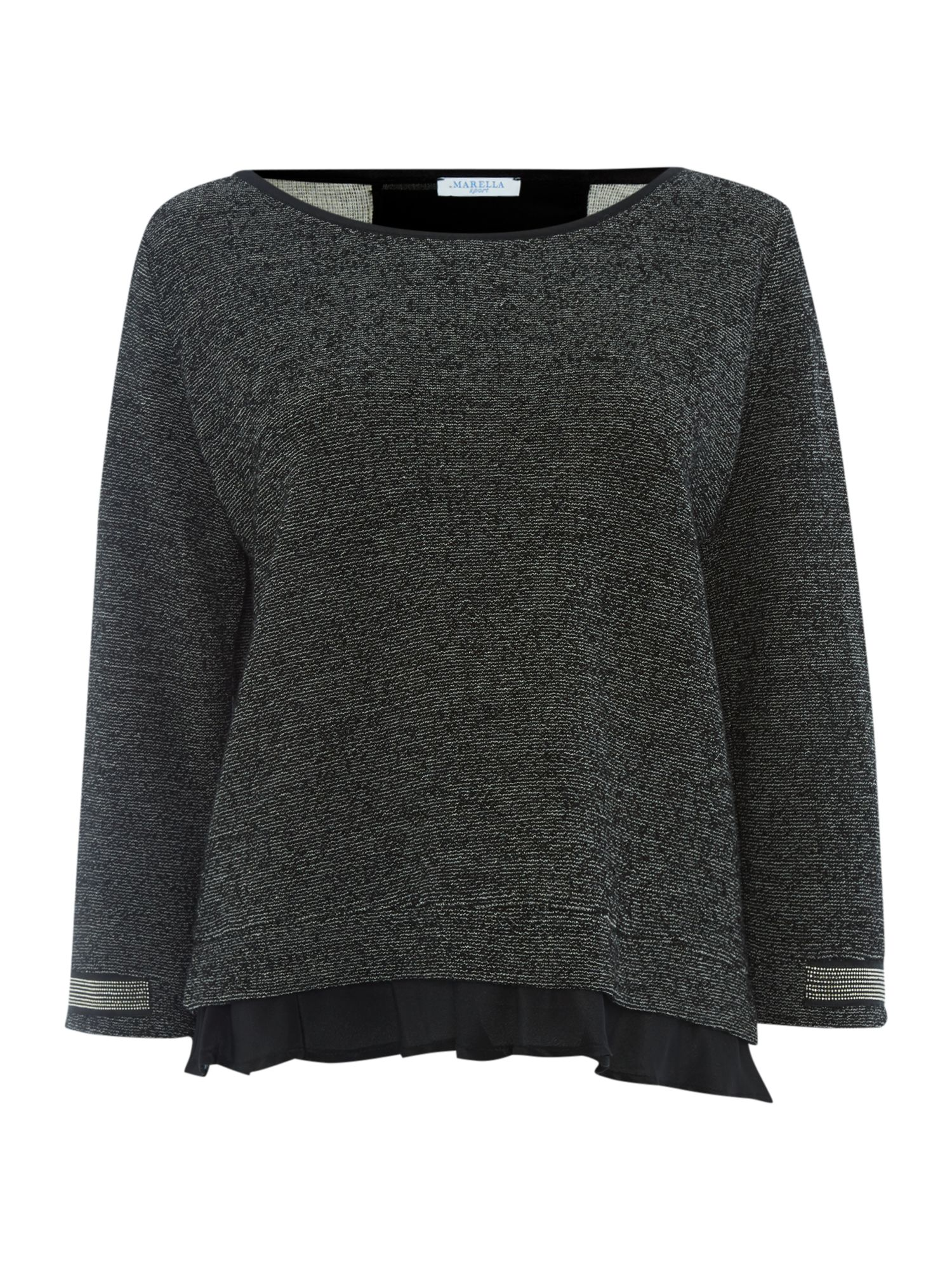 Gerla embellished sweat top